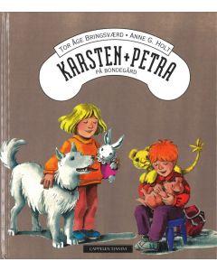 Karsten og Petra på bondegård - barnebok