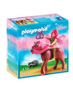 Playmobil Fairies Surya skogsalv med solnedgangshest