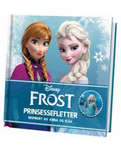 Disney Frozen 28 Prinsessefletter samlet i en bok