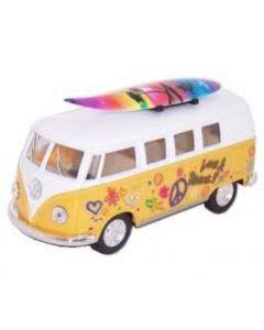 VW klassisk buss fra 1962 med surfebrett - Assorterte farger