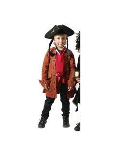 Kaptein Sabeltann 4-5 år Langemann jakke