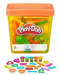 Play-Doh leirebøtte med utstyr