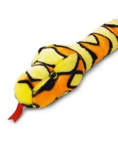 Keel Toys slange - oransje 200 cm