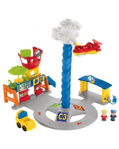 Fisher-Price Little People Spinnin Sounds flyplass