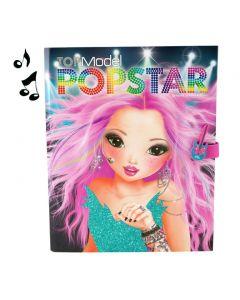 TOPModel malebok - create your popstar