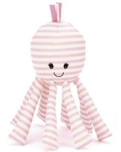 Jellycat plysjrangle - blekksprut - 24 cm - Octavia Octopus