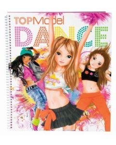 TOPModel malebok create your dance