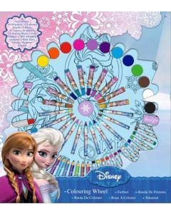 Disney Frozen tegne- og malesett
