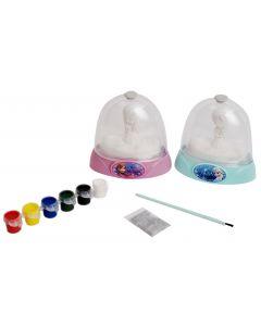 Disney Frozen Glitter Dome - design dine egne glasskuler