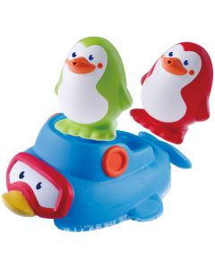 Bkids badeleke - sprutende pingviner