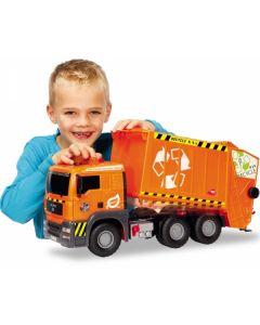 Søppebil m/luftpumpe - 55 cm - Dickie Toys
