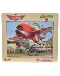 Disney Planes Chupacabra puslespill i tre - 12 biter