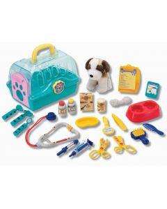 Dyrlegesett - hund i bur - 22 deler