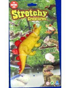 Stretchy dinorsaur - gul