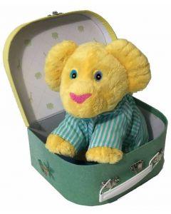 Løveungen 20 cm og pysjamas i koffert