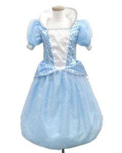 Prinsessekjole blå 3-5 år