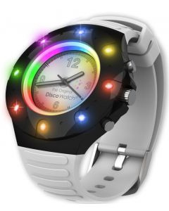 Disco Watch - med mikrofon, lyd og lys - USB kabel