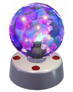 Discolys med adapter - 10 cm - transparent