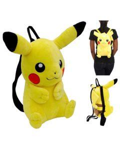Pokemon ryggsekk i plysj - Pikachu