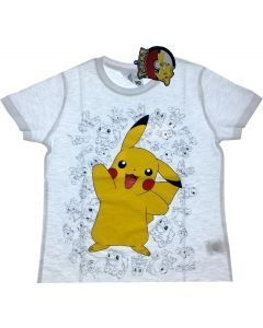 Pokemon t-shirt - 4-5 år