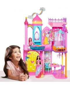 Barbie Rainbow Castle dukkehus - DPY39