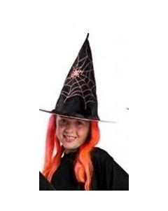 Heksehatt med hår