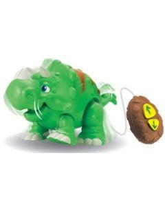 Ledningsstyrt Dinosaur - grønn