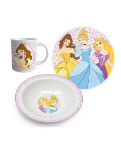 Disney Princess 3 delers frokostsett