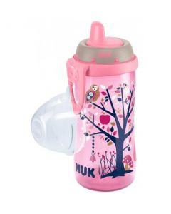 NUK Kiddy Cup med belteklips 300ml