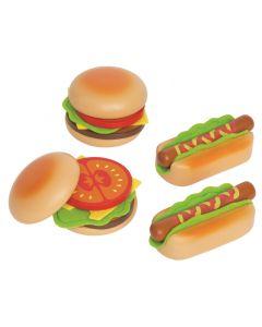 Hape Hamburgere og pølser - 18stk.