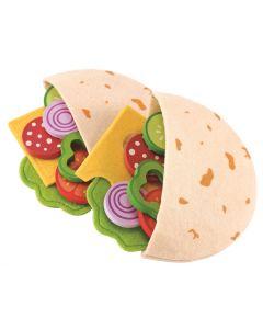 Hape Pitabrød med grønnsaker