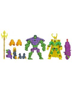 Avengers Super Hero Mashers-kamppakker - Hulk VS Loki