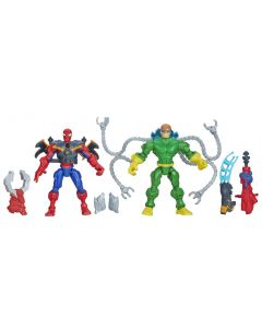 Avengers Super Hero Mashers-kamppakker - Spider-Man VS Doc Ock