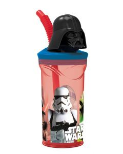 Star Wars juiceglass med 3D topp