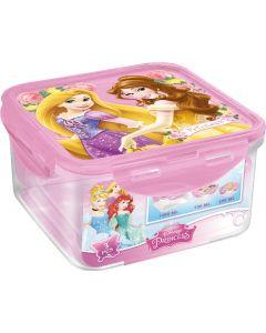 Disney Princess oppbevaringsboks kvadratisk - 3 stk