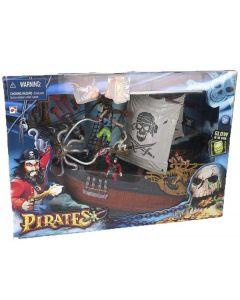 Piratskip - glow in the dark
