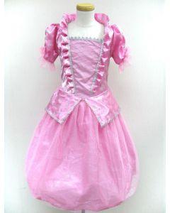 Prinsessekjole rosa 5 -7 år