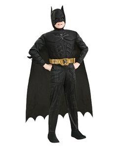 Batman 3D-muskelkostyme 7-8 år