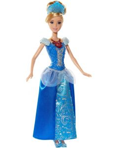 Disney Princess Glitter 'n Lights Cinderella dukke