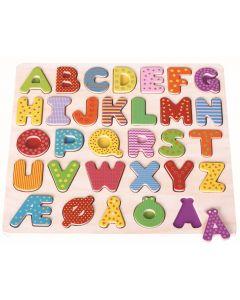 Alfabetbokstaver i tre - norsk versjon
