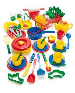 Dantoy barnehage kjøkkensett 59 deler