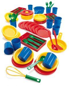 Dantoy barnehage kjøkkensett 82 deler