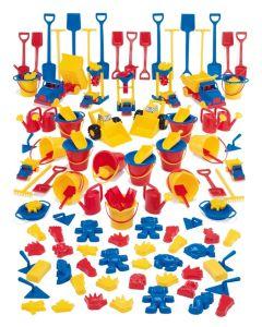 Dantoy barnehage bøtte-spadesett 129 deler