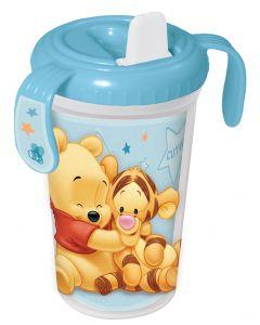 Disney Ole Brumm drikkeflaske blå - 300 ml