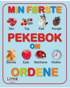 Min første bok om ord pekebok