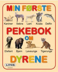 Min første bok om dyrene pekebok