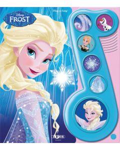 Disney Frozen: La den gå lydbok med 6 knapper (NORSK)
