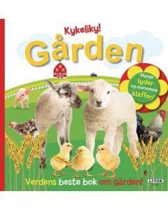 Kykeliky! Gården: Verdens beste bok om gården klaffer med lysaktiverte lyder