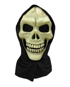 Maske hodeskalle - med tøytrekk