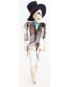 Skjelett med klær - brudgom 40 cm
